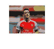 Mesut Ozil Arsenal Effect Photographic Print
