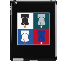 Philly Phour Bells - Liberty Bells for your Favorite Philadelphia Teams! iPad Case/Skin