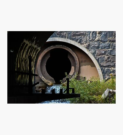Abandoned Tunnel Photographic Print