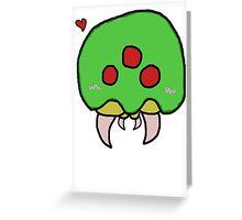 Kawaii Metroid - Beans Edition Greeting Card
