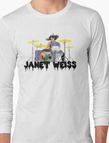 Janet weiss Drummer Amazing Long Sleeve T-Shirt