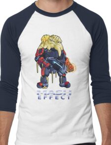Mash Effect Men's Baseball ¾ T-Shirt