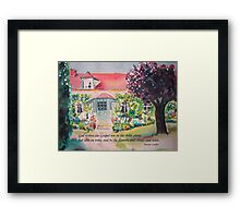 God's Handwriting II Framed Print