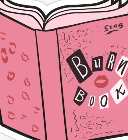 The Burn Book Sticker