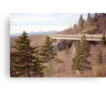 Linn Cove Viaduct on the Blue Ridge Parkway Canvas Print