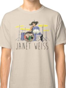 janet weiss she is amazin Classic T-Shirt