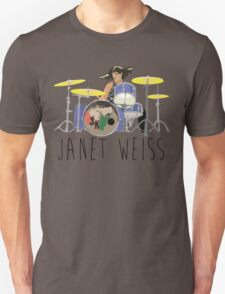 janet weiss she is amazin T-Shirt