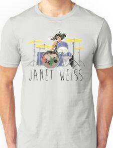 janet weiss she is amazin Unisex T-Shirt