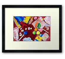 I Want Candy Framed Print