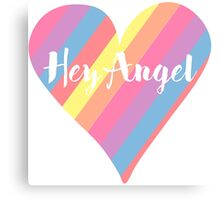 Hey Angel ( One Direction ) Canvas Print