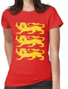 Royal Arms of England Womens Fitted T-Shirt