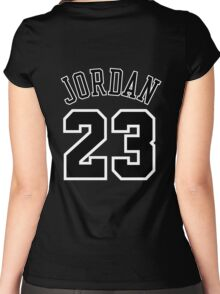 Jordan 23 Jersey Women's Fitted Scoop T-Shirt
