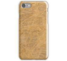 Brown leather texture  iPhone Case/Skin