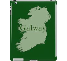 Galway Ireland with Map of Ireland iPad Case/Skin