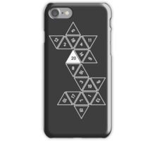 Unrolled D20 iPhone Case/Skin