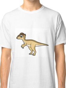 Cute illustration of a Pachycephalosaurus dinosaur. Classic T-Shirt