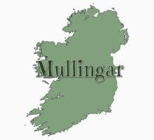 Mullingar Ireland with Map of Ireland Kids Tee