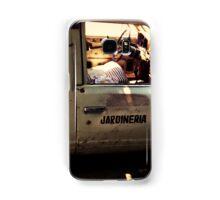 Gardener's truck Samsung Galaxy Case/Skin