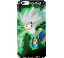 Silver the Hedgehog iPhone Case/Skin