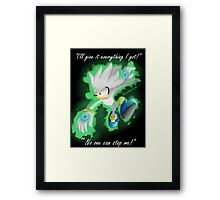 Silver the Hedgehog Framed Print