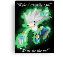Silver the Hedgehog Canvas Print