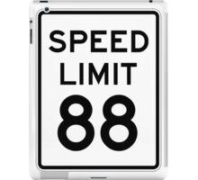 Speed Limit 88 iPad Case/Skin