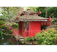 The Tea House, Compton Acres Photographic Print