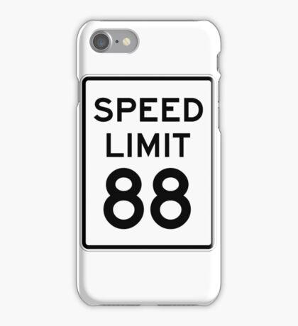 Speed Limit 88 iPhone Case/Skin