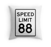 Speed Limit 88 Throw Pillow