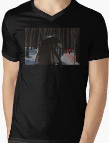 Wolver Ren Mens V-Neck T-Shirt