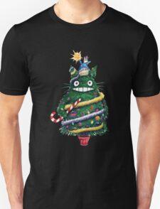 Totoro Christmas Tree Unisex T-Shirt