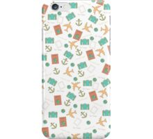 Travel collage  iPhone Case/Skin