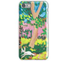 Dog Day in the Park iPhone Case/Skin