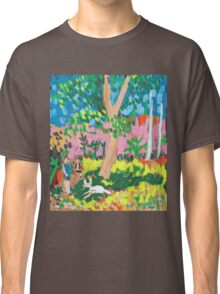 Dog Day in the Park Classic T-Shirt