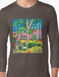 Dog Day in the Park Long Sleeve T-Shirt
