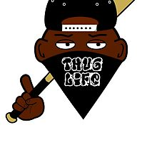 Thug Life/Gangsta 2d by JaredArts