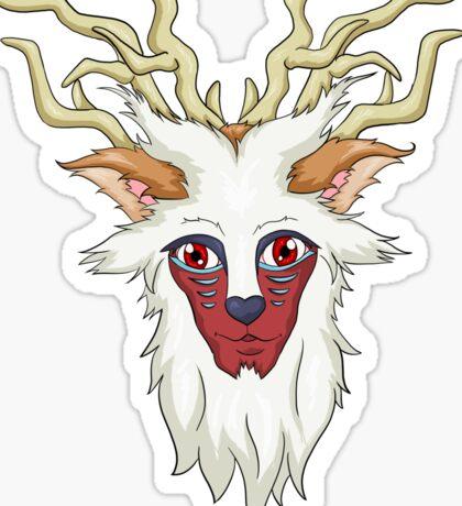 Princess Mononoke: Forest Spirit Sticker