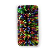 Abstract Cube Array - Mixed Colors (Sideways) Samsung Galaxy Case/Skin