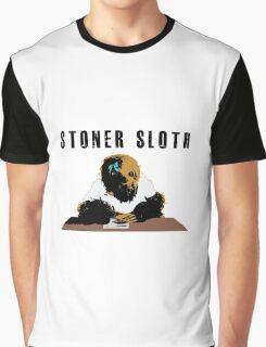 Stoner Sloth stylised Graphic T-Shirt