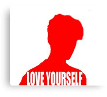 Love Yourself (Justin Bieber) Canvas Print