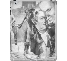Descartes in the Streets of Paris. iPad Case/Skin