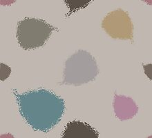 Dry brush hand drawn sketch artsy pattern neutral colours by picbykate