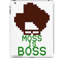 Moss Is Boss iPad Case/Skin