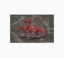 Western Dragon Muscle Anatomy Unisex T-Shirt
