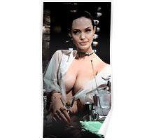 Angelina Jolie MixXart Poster