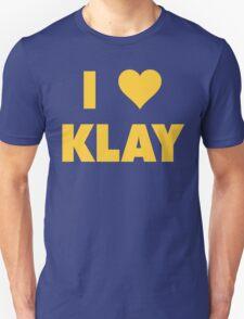 I LOVE KLAY Thompson Golden State Warriors Basketball Unisex T-Shirt