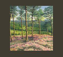 Evening Sun, Surrey Hills Pine Trees Unisex T-Shirt