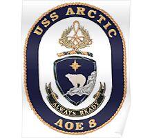 AOE-8 USS (USNS) Arctic Poster