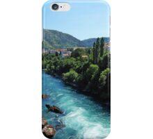 Neretva river iPhone Case/Skin