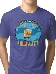 Spongebob's Gym Tri-blend T-Shirt